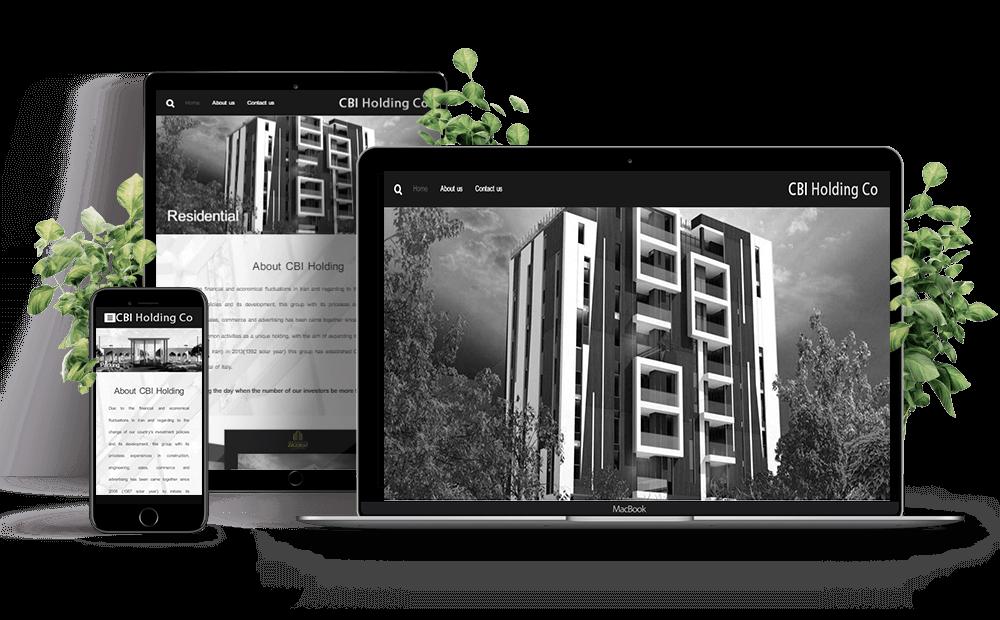 طراحی سایت در مشهد , هلدینگ بین المللی سامیاران