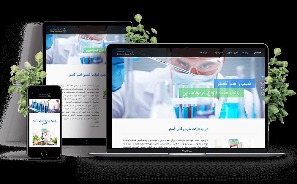 طراحی سایت شرکتی در مشهد,طراحی سایت شرکتی فرمولکس
