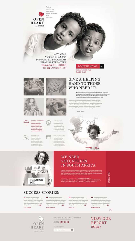 مزایای طراحی سایت خیریه در مشهد