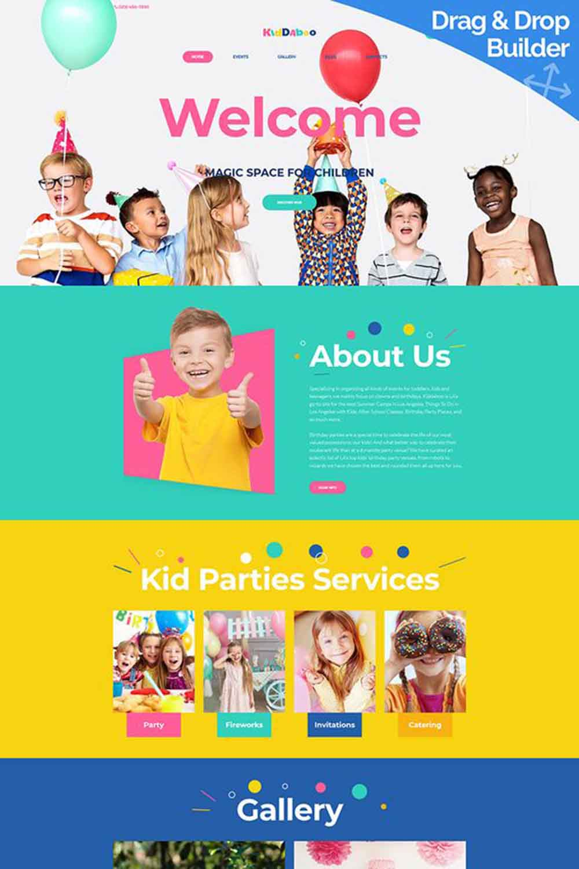 هزینه طراحی سایت کودکان