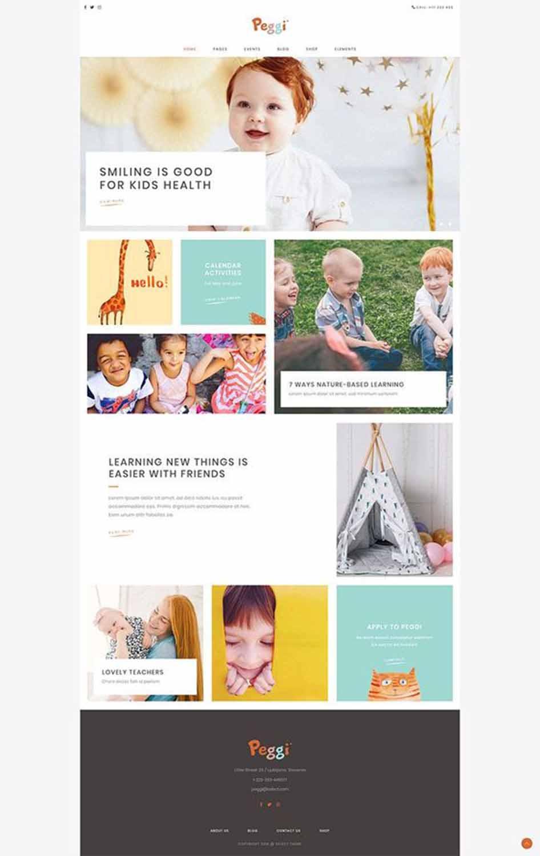 مزایای طراحی سایت کودکان