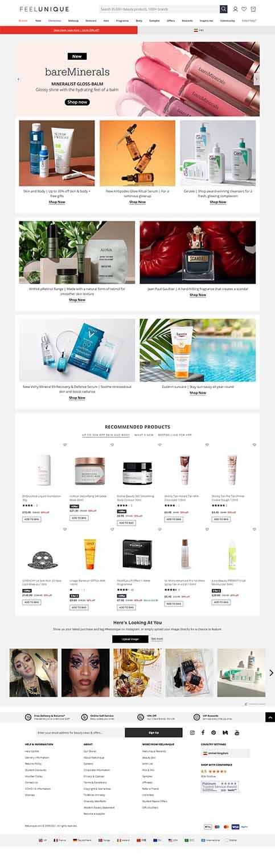 هزینه طراحی سایت فروشگاه لوازم آرایش