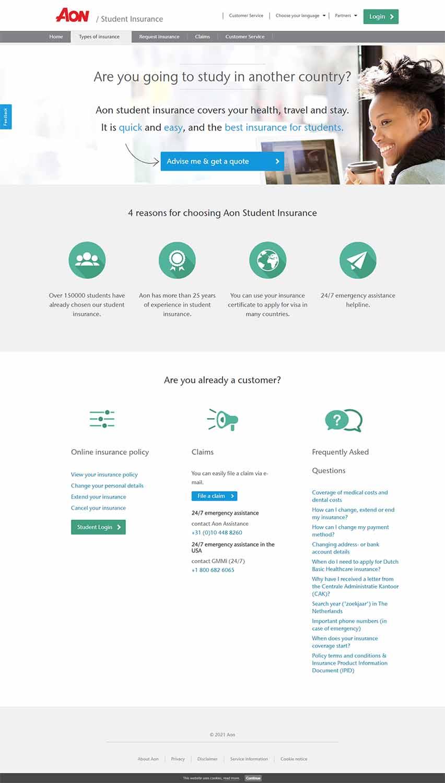 مزایای طراحی سایت بیمه