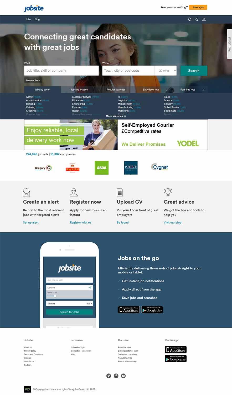 مزایای طراحی سایت کاریابی