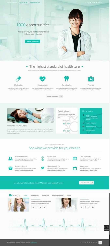 هزینه طراحی سایت پزشکی
