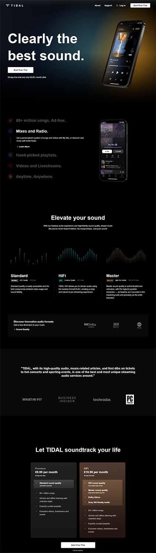هزینه طراحی سایت موسیقی