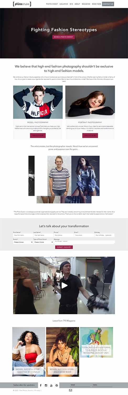 مزایای طراحی سایت آتلیه عکاسی