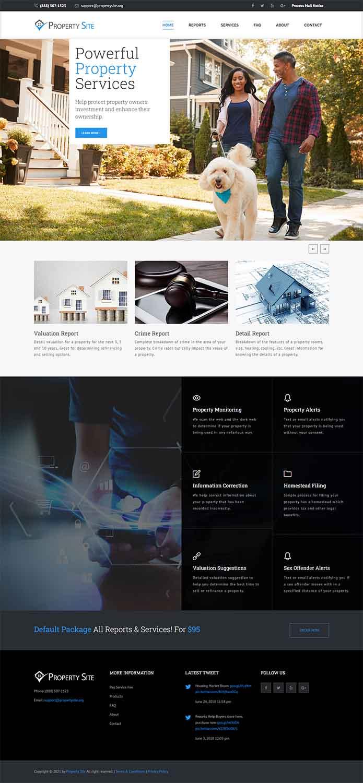 مزایای طراحی سایت املاک در مشهد