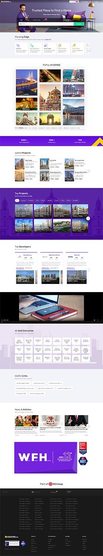 مزایای طراحی سایت املاک