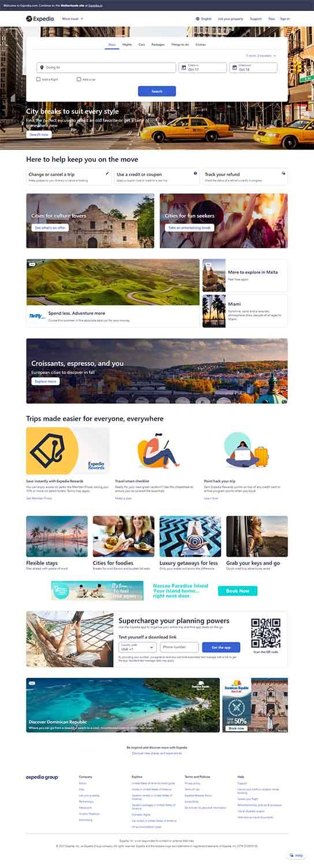 مزایای طراحی سایت آژانس مسافرتی
