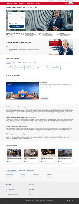 مزایای طراحی سایت هتل در مشهد