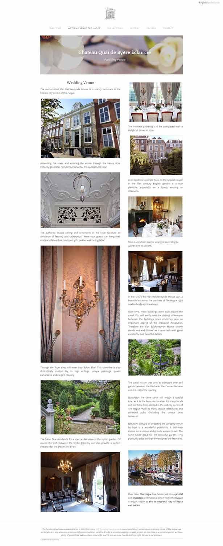 مزایای طراحی سایت مجالس و مراسم در مشهد