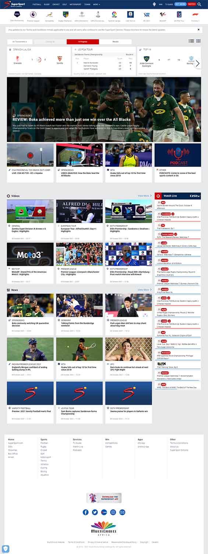 مزایای طراحی سایت ورزشی
